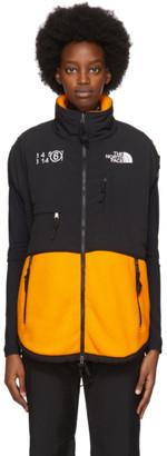 MM6 MAISON MARGIELA Orange The North Face Edition Fleece Circle Sweater