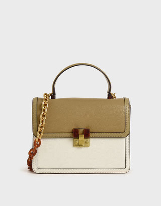 Charles & Keith Chunky Chain Strap Bag