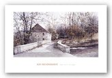 "McGaw Graphics The Mill Bridge by Ray Hendershot 16""x30"" Art Print Poster"