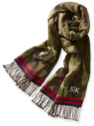 Mark And Graham Camo Print Blanket Scarf