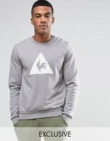 Le Coq Sportif Grey Sweatshirt With Large Logo In Grey 1711096