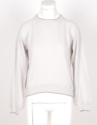 Eleventy Ice Gray Pure Cashmere Women's Sweater