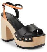 McQ Open-Toe Platform Sandals