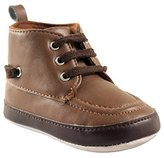 Luvable Friends Kids' High Top Boat Shoe Boot