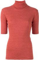Libertine-Libertine roll-neck T-shirt - women - Cotton - XS