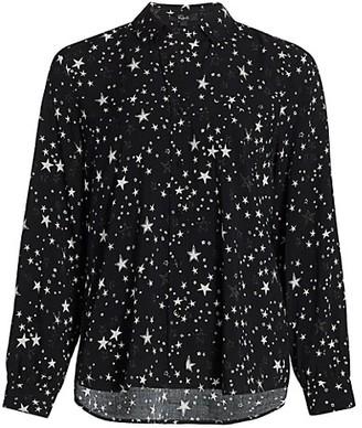 Rails Noemi Star Print Blouse