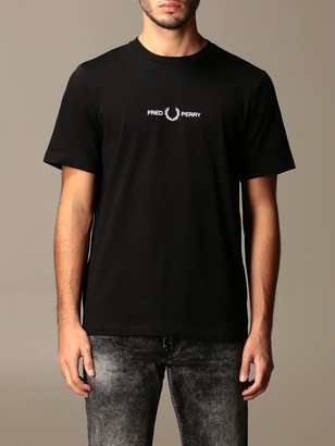 Fred Perry Cotton T-shirt With Logo