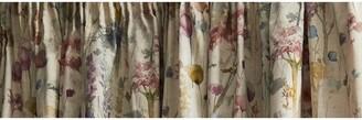 Voyage Ilinizas Pair Lined Pencil Pleat Curtains, Poppy