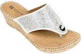 White Mountain Women's Bonnie Wedge Slide