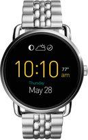 Fossil Q Wander Stainless Steel Bracelet Touchscreen Smart Watch 45mm FTW2111