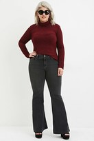Forever 21 FOREVER 21+ Plus Size Flared Jeans