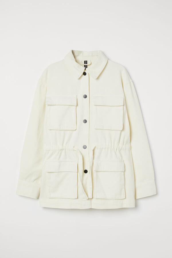 Thumbnail for your product : H&M Cotton twill utility jacket