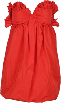 Philosophy di Lorenzo Serafini Philosophy Ruffled Balloon Mini Dress