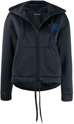 Emporio Armani hooded zip up jacket