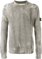 Stone Island ribbed-knit jumper