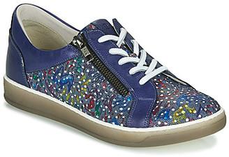 Dorking KAREN women's Shoes (Trainers) in Blue
