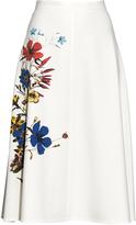 Erdem Maury floral-print midi skirt