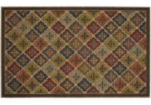 "Mohawk Ornamental Entry 1' 6"" L X 2' 6"" W Doormat Bedding"