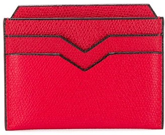 Valextra Textured Card Holder
