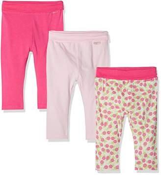 Playshoes Baby Leggings Rosen-rosa Im 3er Pack,(Size: /68) (Pack of 3)