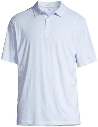 Peter Millar Crown Soft Mini Stripe Polo