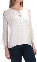 525 America Embroidered Blouse - Rayon, Long Sleeve (For Women)