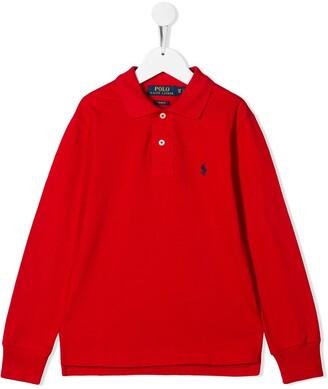 Ralph Lauren Kids Slim-Fit Polo Shirt