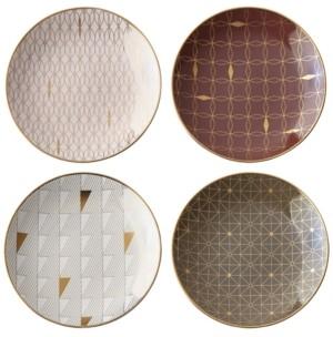Lenox Trianna Assorted Tidbit Plates, Set of 4