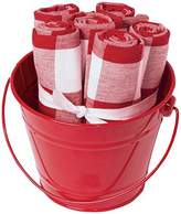 Now Designs Bucket O' Napkins - Poppy - 6 ct