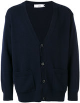 Ami Alexandre Mattiussi loose-fit cardigan - men - Cashmere/Wool - XS