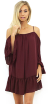 Amanda Uprichard Henriette Dress in Wine