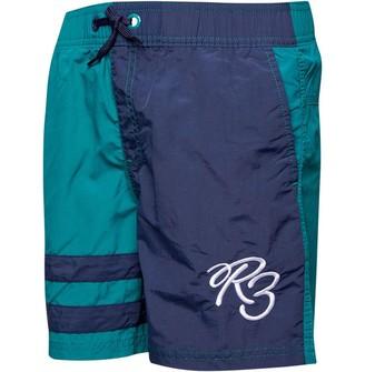 Ripstop Boys Brambrey Swim Shorts Green/Navy