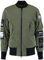 Tiger of Sweden SOB Bomber Jacket dark khaki green