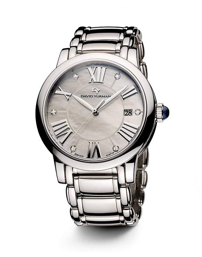 David Yurman Classic 38mm Quartz with Diamond Markers