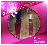 Pierre Cardin Rose De Eau De Toilette 30ml & Purse Spray 15ml Gift Set For Her by