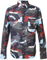Moncler camouflage print shirt - men - Cotton - 2
