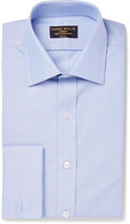 Emma Willis - Blue Slim-fit Double-cuff Cotton Oxford Shirt