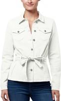 Chaps Women's Belted Jean Jacket