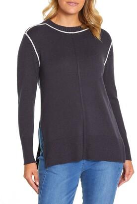 Marc O'Polo Marco Polo Long Sleeve Contrast Stitch Sweater