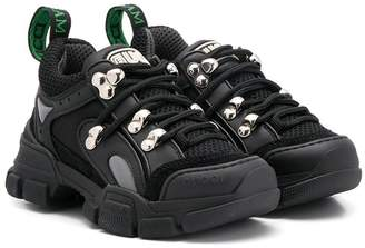 Gucci Kids Flashtrek lace-up sneakers