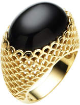 Gaudi' Jan Logan 9ct Oval Onyx Gaudi Ring
