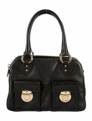 Marc Jacobs Leather Shoulder Bag Black