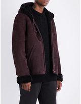 Yeezy Season 5 shearling coat