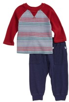 Splendid Infant Boy's Stripe T-Shirt & Sweatpants Set