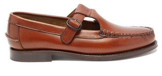 Hereu Alber T-bar Leather Loafers - Womens - Tan