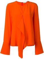 Emilio Pucci flared longsleeved blouse - women - Silk - 40