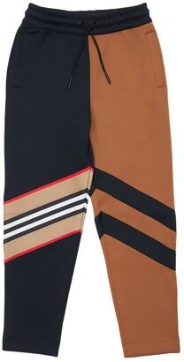 Burberry Color Block Tech Track Pants