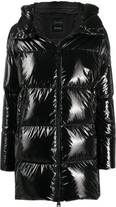 Herno Down-Feather Hooded Coat