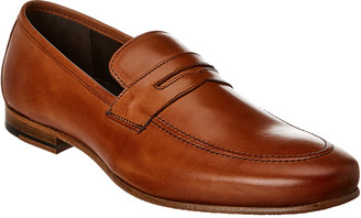Nettleton Shoes Leather Penny Loafer