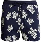 Vilebrequin Moorea Glow-in-the-dark Turtles-print swim shorts
